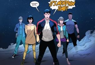 Saban's Go Go Power Rangers 001-016