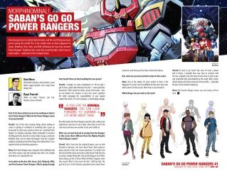 Saban's Go Go Power Rangers 001-024
